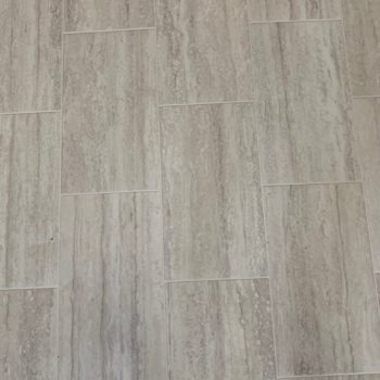 Travertine Tile Sheet Vinyl